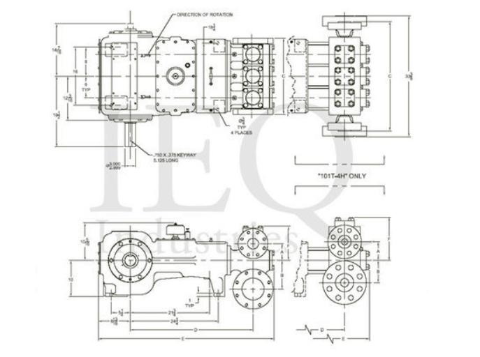 Gaso T100 Drawing