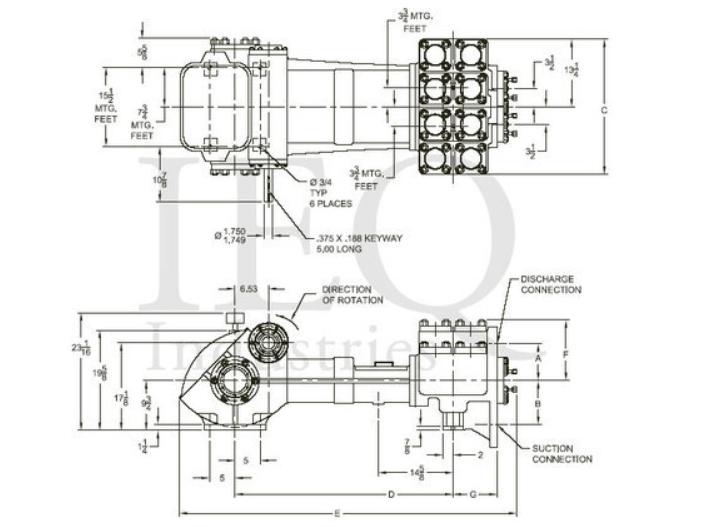GASO 1847-A Pump Drawing